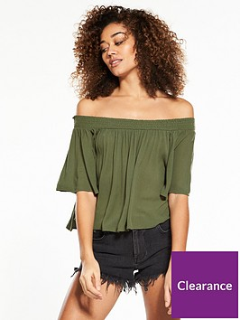 superdry-alia-off-shoulder-blouse-khaki
