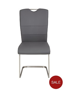 consort-pair-of-cantilevernbspdining-chairs--grey