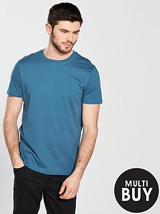 v-by-very-short-sleeve-basic-crew-neck-tee