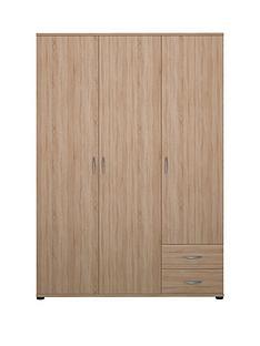 madrid-3-door-2-drawer-robe