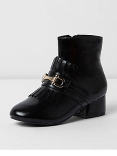 river-island-river-island-flared-heel-kilted-boot-shiny