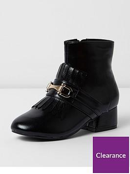 river-island-river-island-flared-heel-kilted-boot-shiny