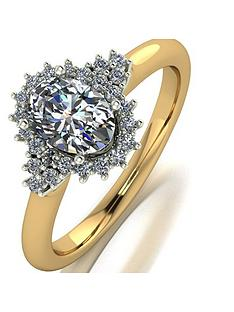 moissanite-moissanite-9ct-gold-110ct-oval-center-cluster-ring