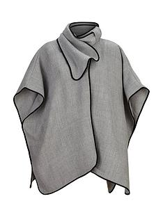 v-by-very-bow-neck-detail-cape