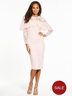 v-by-very-long-sleeve-frill-lace-pencil-dress