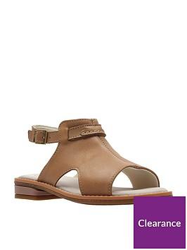 clarks-darcy-lilynbsp-girls-sandals-tan
