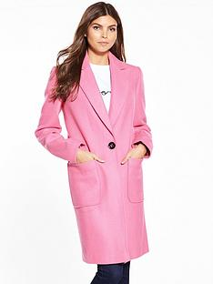 miss-selfridge-pink-coat