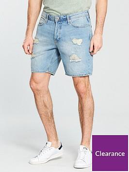 jack-jones-jack-amp-jones-intelligence-rick-ripamprepair-denim-shorts