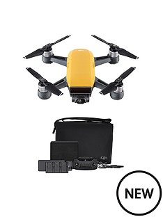 dji-spark-fly-more-combo-sunrise-yellow