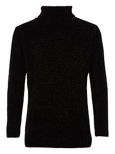 river-island-boys-black-roll-neck-chenille-jumper