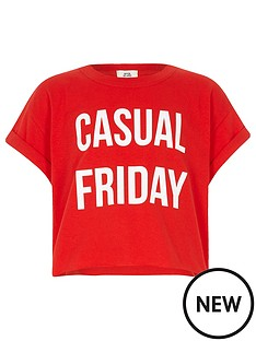 river-island-girls-red-039casual-friday039-cropped-t-shirt