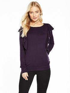 wallis-ruffle-shoulder-jumper