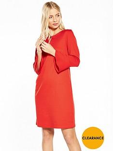 wallis-flute-sleeve-ponte-dress