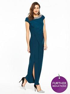 wallis-moon-trim-maxi-dress