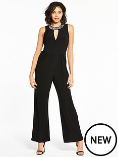 wallis-embellished-collar-jumpsuit