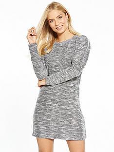 miss-selfridge-boucle-jumper-sweat-dress