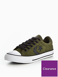 7fa80f8bd969ee Converse Converse Star Player EV Camo Suede - TD Ox Childrens Trainer