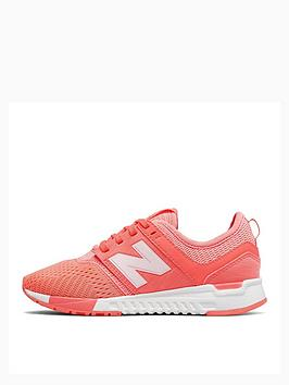 new balance 247 junior trainers