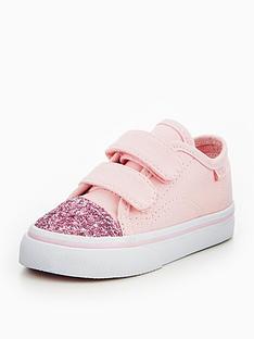 vans-vans-td-style-23-v-glitter-toe-infant-trainer