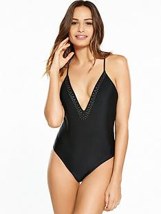 south-beach-plunge-front-swimsuit-with-gunmetal-stud-detail-black