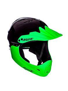 awe-bmx-full-face-helmet-black-green-medium-54-58cm