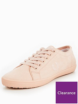 fred-perry-kingston-microfibrenbsplace-up-espadrille-shoes-pink