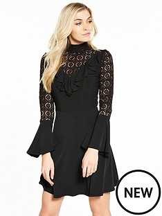 v-by-very-lace-frill-skater-dress