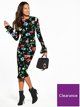 v-by-very-ruched-front-jersey-midi-dress