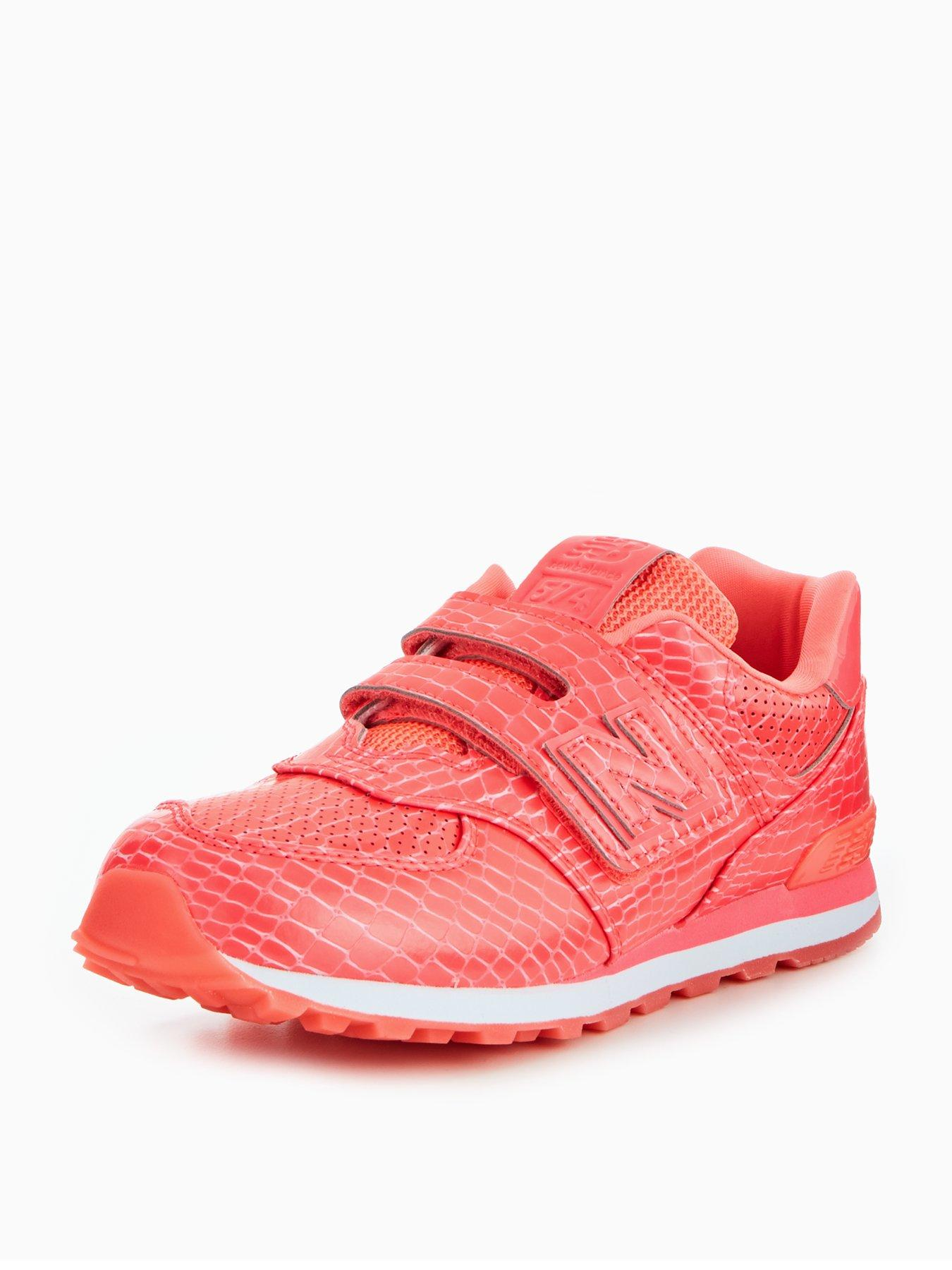 new balance 574 junior pink