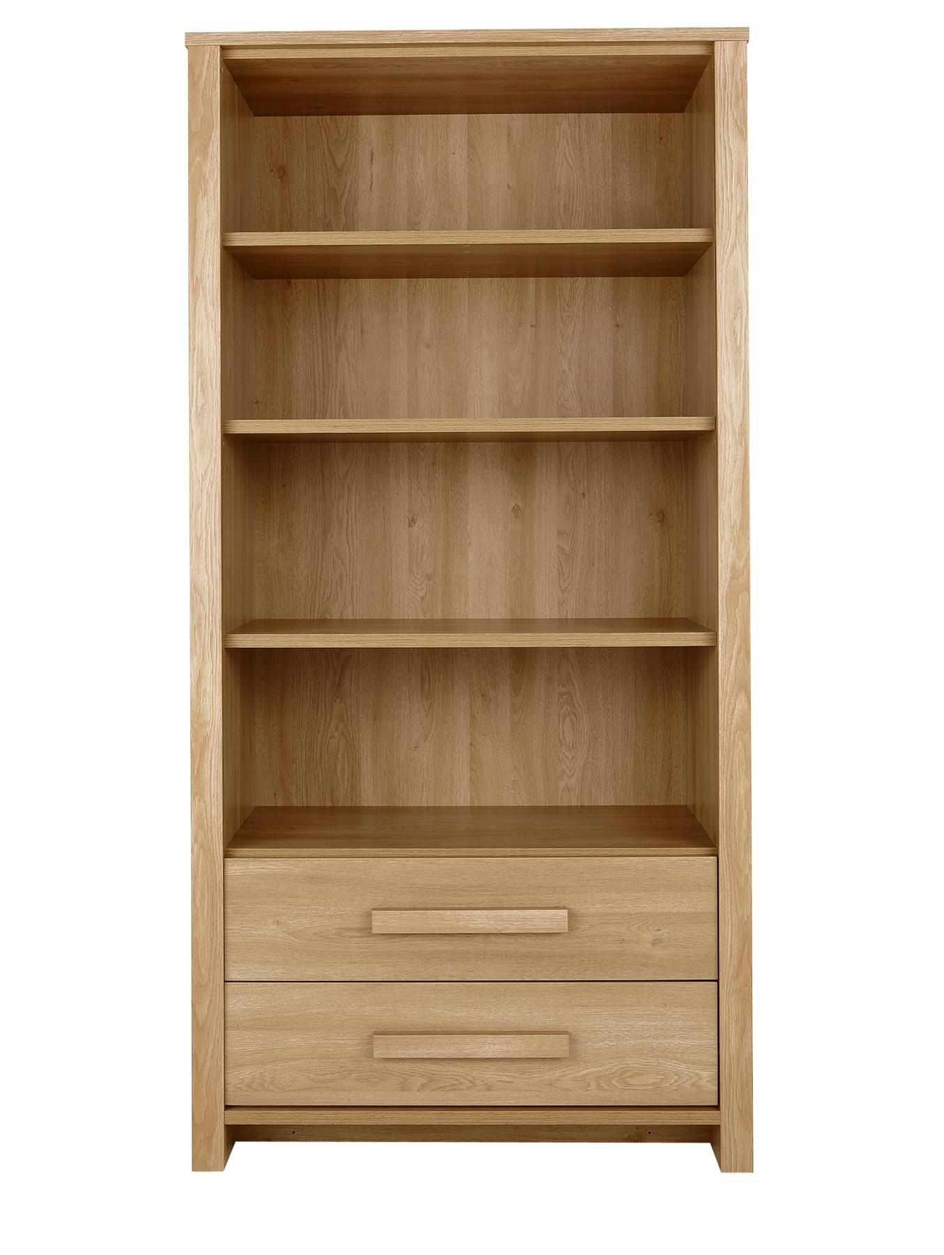 Tuscany Ready Assembled Large Bookcase