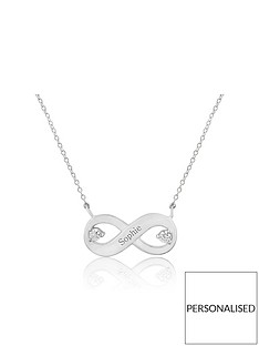 keepsafe-personalised-sterling-silver-infinity-cubic-zirconia-pendant