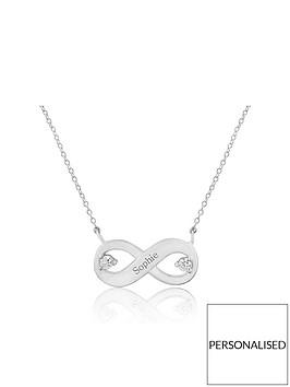 keepsafe-personalised-sterling-silver-infinity-cubic-zirconia-pendant
