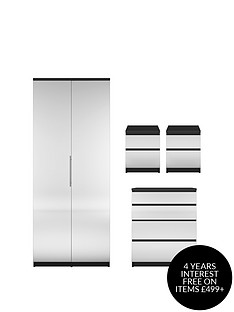 prague-mirror-4-piece-package-2-door-wardrobe-4-drawer-chest-and-2-bedside-cabinets-buy-and-save