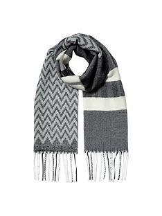 river-island-girls-mono-check-scarf