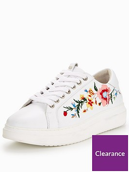 karen-millen-embroidered-trainer