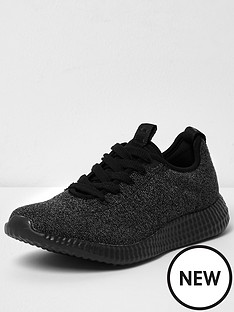 river-island-river-island-knitted-sports-runner-trainers