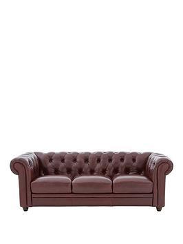 Violino Violino Chester Premium Leather 3 Seater Sofa Picture