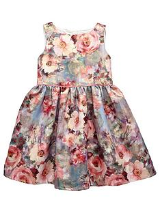 mini-v-by-very-girls-floral-prom-jacquard-dress