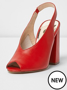 river-island-high-vamp-sling-back-shoes