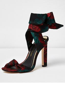 river-island-rose-satin-tie-up-sandals