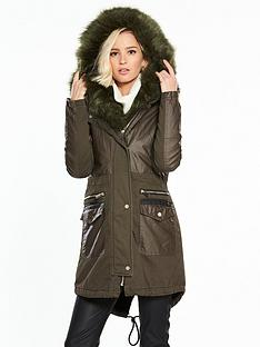 river-island-faux-fur-parka-coat--khaki