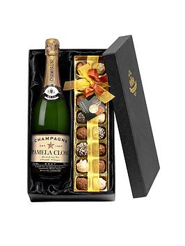 personalised-champagne-amp-chocolates