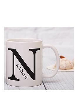 Very Personalised Monogram Mug Picture