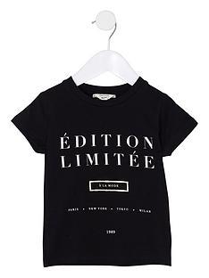 river-island-mini-girls-black-039edition-limitee039-t-shirt