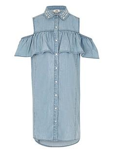 river-island-girls-blue-denim-embellished-frill-dress