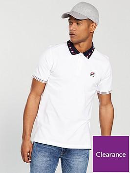 fila-white-line-montagne-tipped-collar-polo
