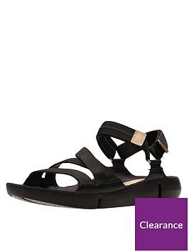 clarks-tri-sienna-luxury-velcro-strap-flat-sandal-black