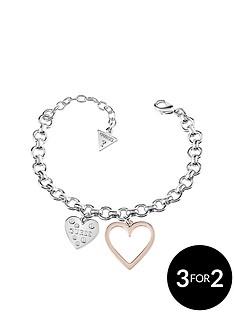 guess-2-tone-heart-in-heart-bracelet