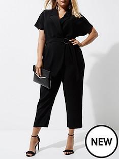 ri-plus-ri-plus-wrap-jumpsuit--black
