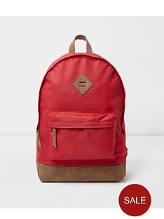 river-island-mens-red-backpack